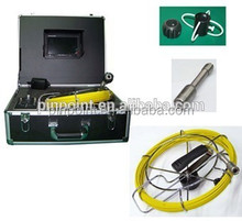 Waterproof PD-710 underwater and underground pipe inspection camera with under sewer inspection camera