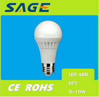 A60 7W New LED Product Globe Bulb for Lighting White Light