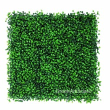Artificial Boxwood Panel, UV Protected Hedge Fence Greenery Panels for Outdoor or Indoor Decoration ( GP - B01010 )