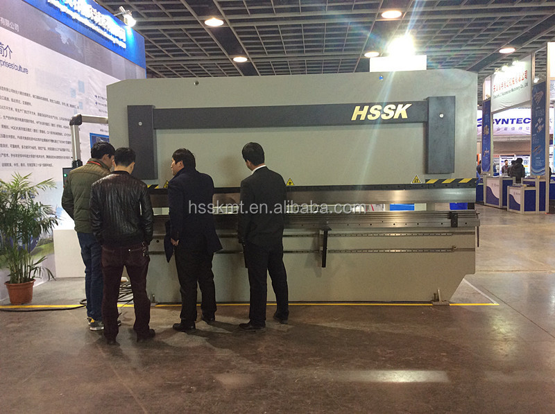 NANJING HSSK BRAND WC67K cnc hydraulic press brakes MADE FROM HUANGSHI MACHINERY