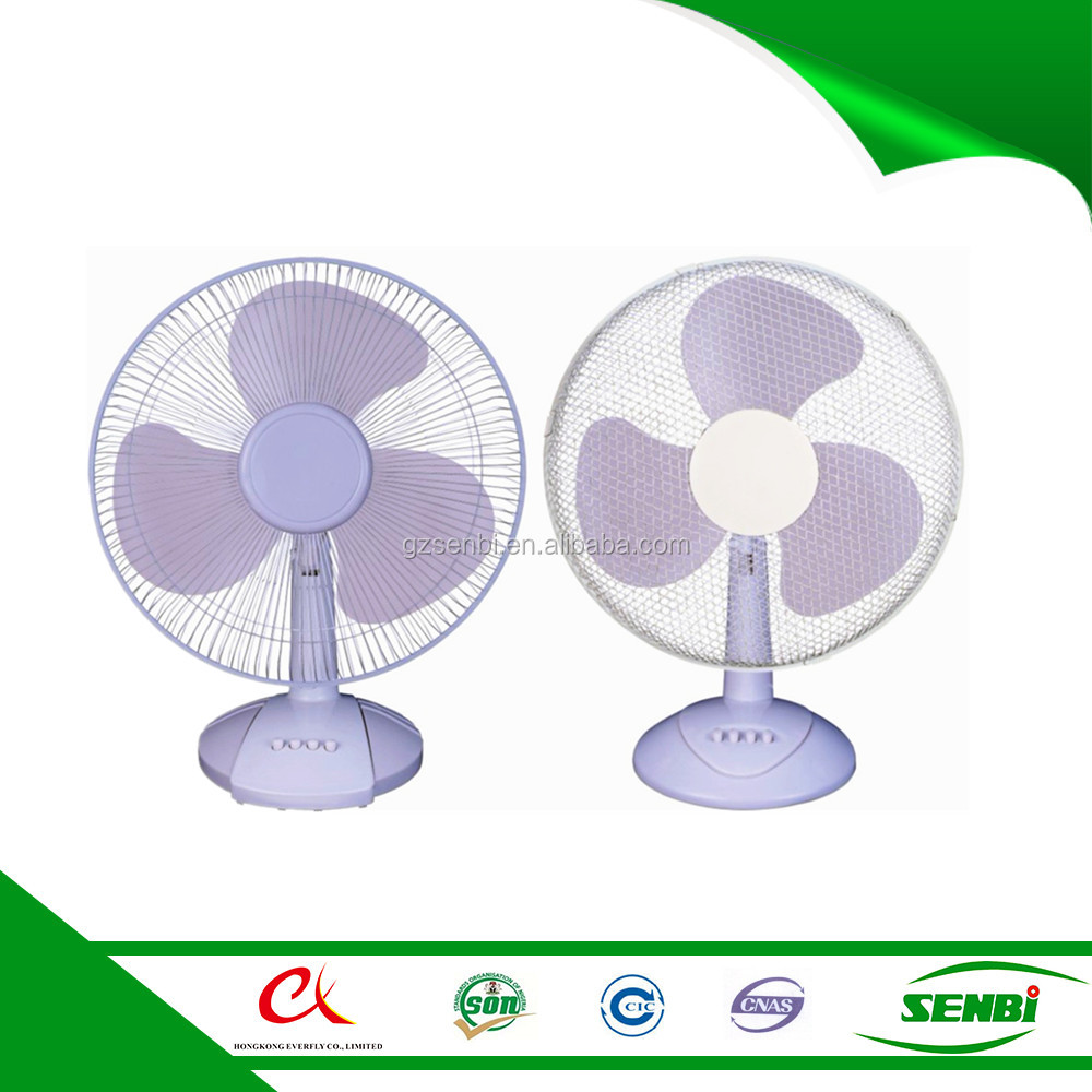 16 inch 12 volt dc brushless solar cooling table fans