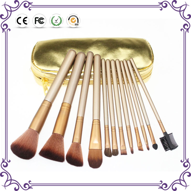 China wholesale naked 2 brand name makeup brush set cosmetic kit brush for makeup