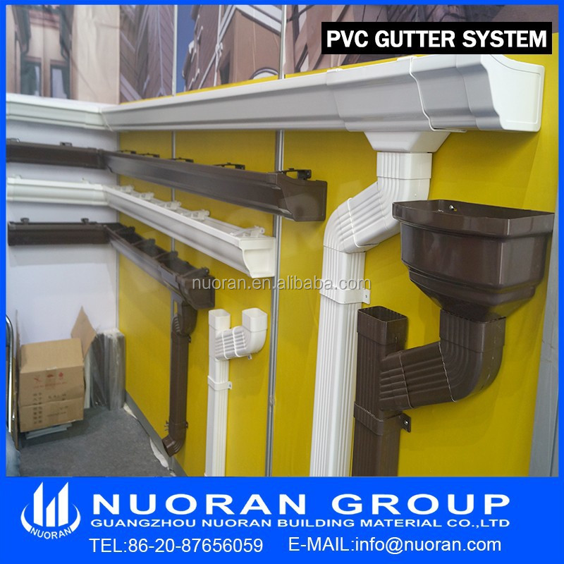 2015 factory pvc rainwater filter for pvc gutter drainage for Rain drainage system