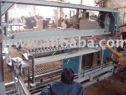 Travelling Head Diagonal Wire Mesh Welder for Cooling Towers