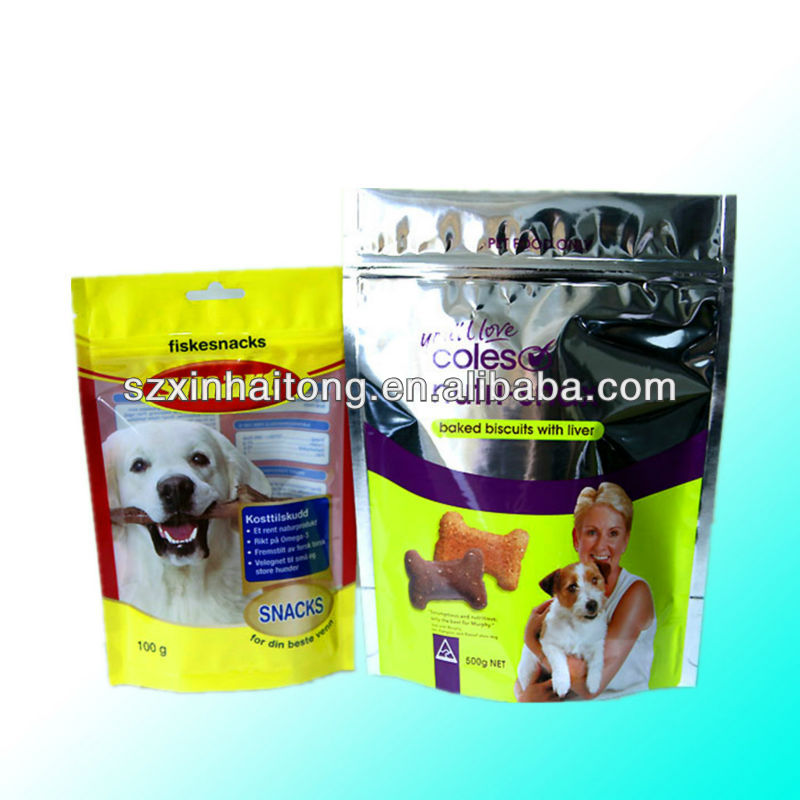 Customized Aluminum Foil Retortable Colourful Decorative Printed Pet Food bag