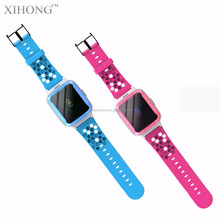 Cute colorful kid monitor gps tracking multi smart watch for child Christmas gift