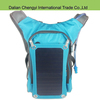 Functional qualified oxford hiking solar backpack with phone power supplier