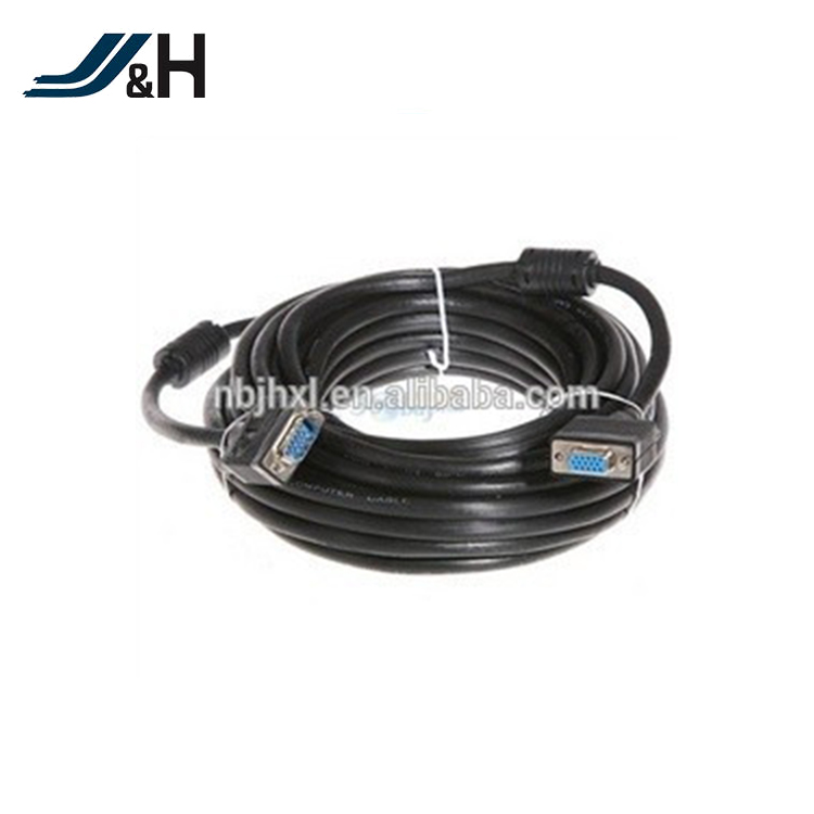 3+4+64B 3+6+96B VGA WIRE AND RCA CABLE 5 CORES 9PIN 15PIN