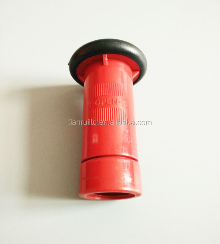 "1"" Plastic Fire Hose Reel Nozzle in Fire Fighting"