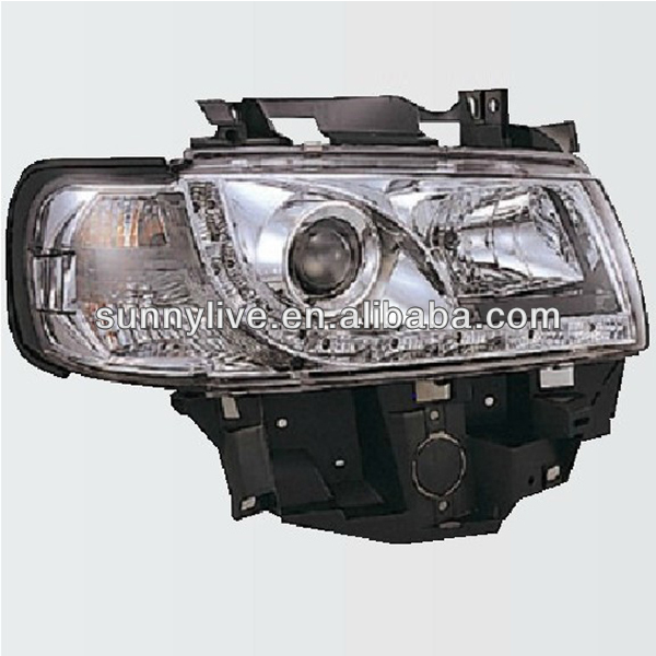 For VW T4 LED Headlight 1997-2002 year SN Type Chrome Color