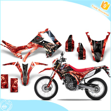 high quality sticker dirt bike body sticker design graphic dirt bike stickers