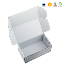 2017Custom small paper box making machines white recycle paper box