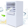 Portable Evaporative Mini Personal Conditioner Fan Air Humidifier Water Mist Fan 3 Modes Bladeless Quiet Air Cooler