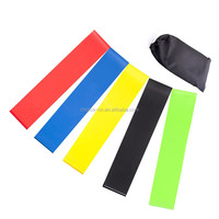 "Hot sale 10""12"" latex exercise resistance band set"