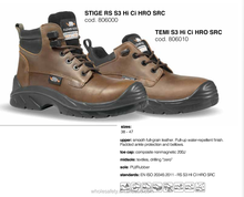 Safety footwear with impact resistance water proof antislip