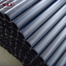 6 meter length 12'' HDPE pipe for water