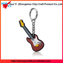 Creative Advertising Festival Gifts PVC Soft Rubber Key Chain Customized-ZSHuayi Crafts Factory