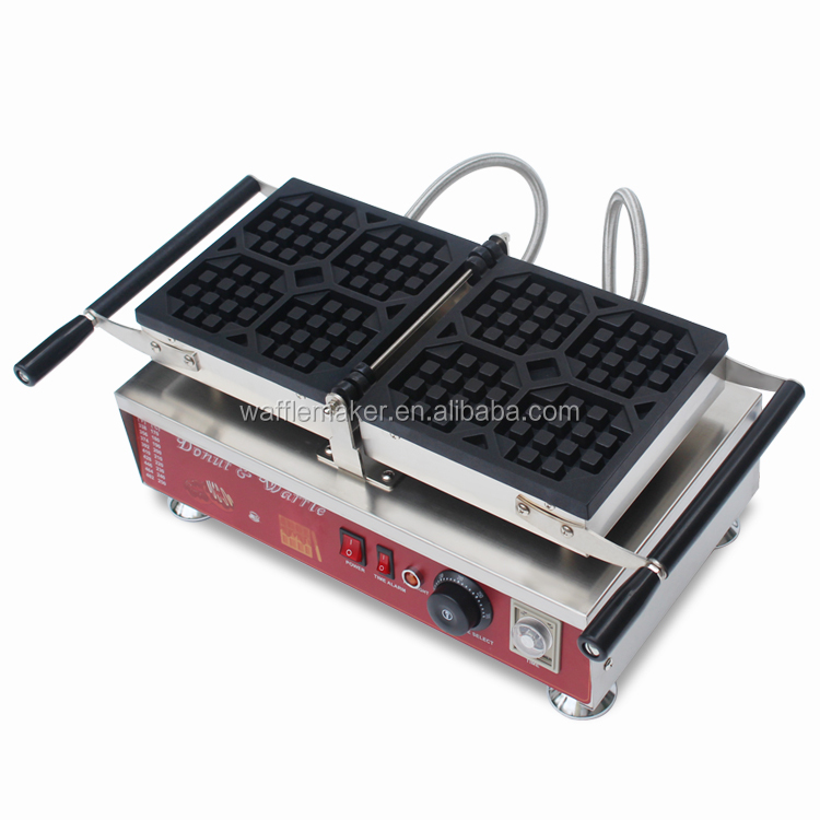 High quality Belgium Waffle Machine for sale,stainless steel liege waffle