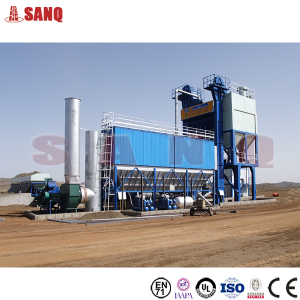 72-96T/H Asphalt Mixing Plant Road Construction Equipment HXB1200 Asphalt Mixing Machine With Factory Price For Sale
