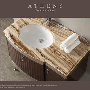 China factory1000mm coffee used bathroom vanity cabinets