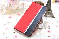 Mobile Phone Wallet Cover Bags PU Leather Pouch Protector Case for Alcatel One Touch Pop C7 7041D