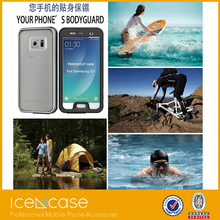 New Waterproof Transparent Case for Samsung Galaxy S7/S7 Edge Clear Diving Soft Back Strap Hard General Phone Cover