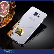 Mirror fashion aluminum pc phone case for samsung galaxy note 5