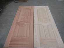 melamine wood grain moulded door skin