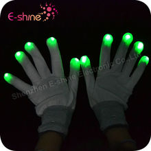 Wholesale Party Supplies Lighting Party Multicolor Led Flashing Gloves