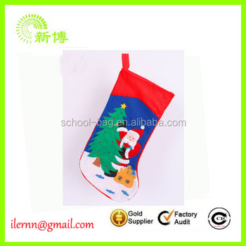 Customized Professional Fuzzy Christmas sock