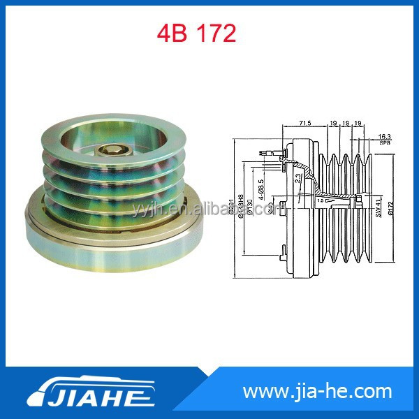 Auto AC bus compressor cluth Cable for Bock Compressor/Bitzer compressor clutch 4B 172