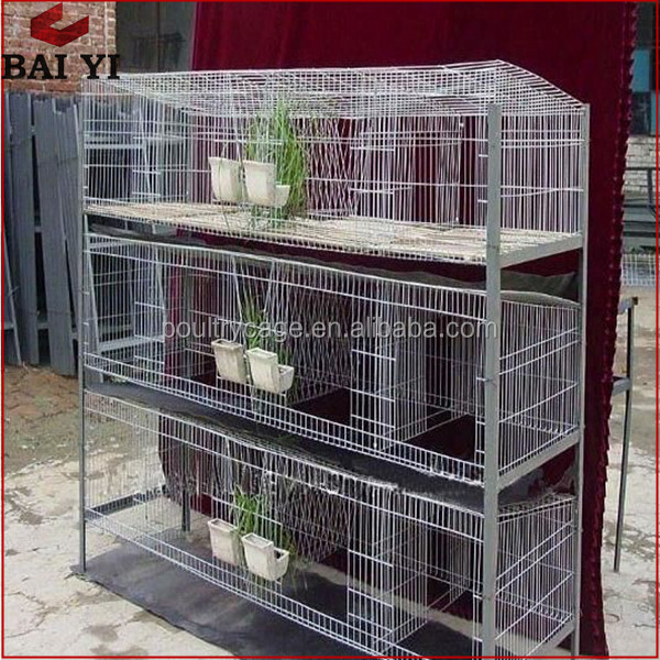 Cheap Commercial Folding Rabbit Cage Industrial