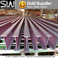 hot rolled prime structural steel h beam h shape steel beam dimensions