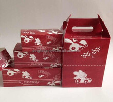 high quality ivory board packaging box for fried chicken