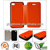 New design leather 2 in 1 case for iphone4/4s