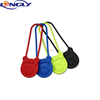 Promotional Silicone Padlock Shape Luggage Tag with Flexible Handle