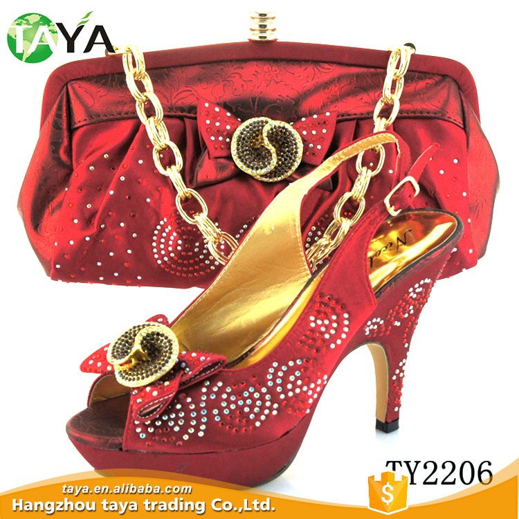 latest italian matching shoes and bag set ladies shoes and bag to match for nigerian wedding