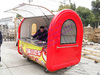 China motorcycle food cart for small business