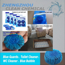 durable toilet blocks cleaning treasure blue round degerming