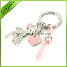 Custom metal keychain promotional gift Unusual keyrings