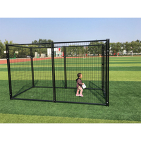 2018 Hot Sale For Large Dogs Metal Unique Stainless Steel Welded Wire Dog Kennels/modular dog kennel
