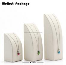 Webest package luxury pendant necklace bracelet juwelier display set stand for jewellery