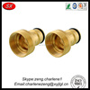 precision brass fittings connector , pipe fittings connector with high quality