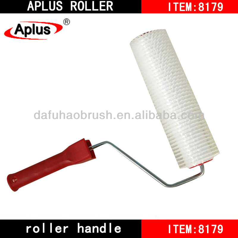 EU semi-transparent polyester bubble removing paint roller brush