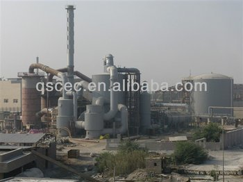 500kta sulfuric acid plant based on sulfur