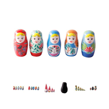 FQ brand wholesale new custom matryoshka dolls for kids Traditional Hand Painted russian wooden nesting doll