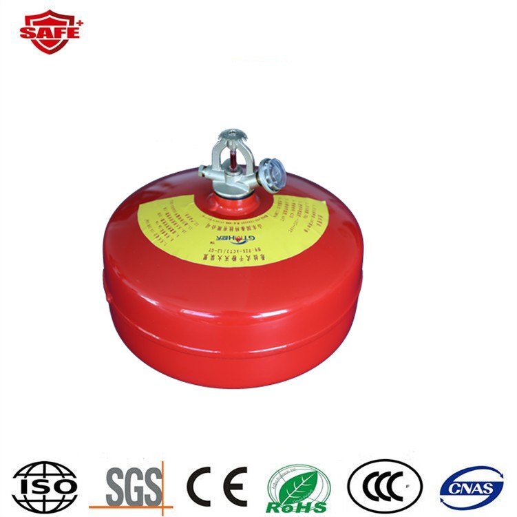 Best in safety fire ball fire extinguisher