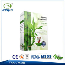 100% bamboo vinegar the foot patch