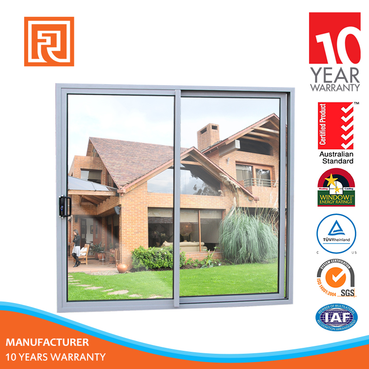 Shanghai Factory Price Energy Efficient sliding glass doors 3 panel