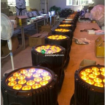 18*18w RGBWAUV 6in1 outdoor led par 64